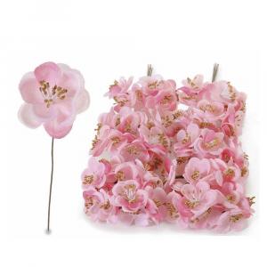 Fiorellino di pesco decorativo artificiale
