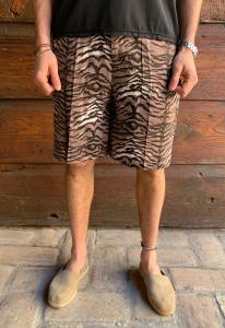 BERMUDA OVER ANIMALIER TIGRE MARSEM