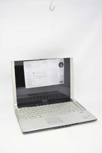 Computer Dell Portatile Modello XPS M1330 Con Cavo Di Alimentazione (vedi Foto)