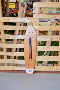 Table Per Skateboard Wood 70 Cm Long (no Wheels)