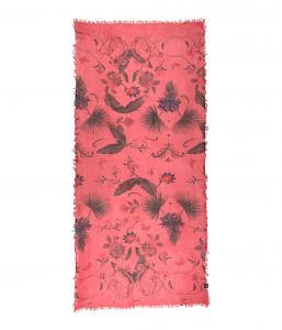 FOULARD FRIDA - sfondo rosso