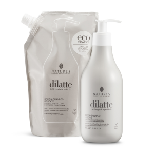 Doccia-shampoo delicato Dìlatte - 400 ml