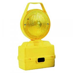 LAMPADA DA CANTIERE LAMPEGGIANTE 'LUX' gialla