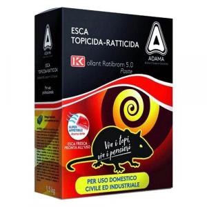 ESCA TOPICIDA FRESCA 'RATIBROM' gr. 1500 - cf. 3 buste (500 gr.)
