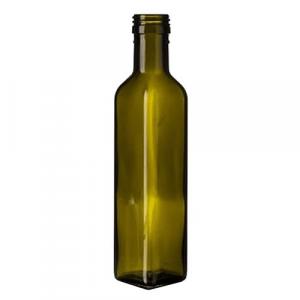 BOTTIGLIA IN VETRO 'MARASCA' 250 ml - tappo 39455