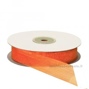 Nastro Arancione in organza varie misure - Nastri bomboniere