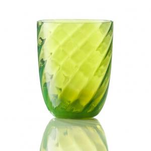 Bicchiere Ottico Torsè Verde Acido