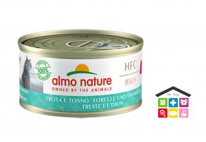 Almo Nature HFC Jelly Trota e Tonno 0,70g