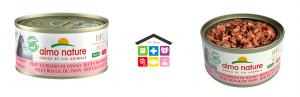 Almo nature HFC Jelly Made in Italy Filetto Rosso di Tonno 0,70g