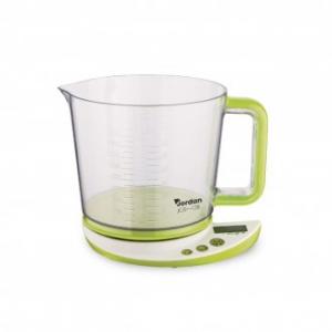 Bilancia da Cucina Jordan JCB 128 Digitale Colore Lime Per Cucinare Compreso di Ciotola in Plastica Cucina