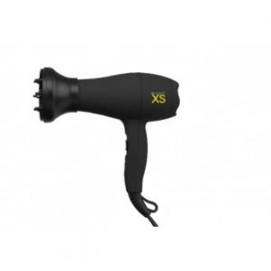Phon Asciugacapelli XS Tormal Con Mini Diffusore Integrato Colore Nero Da Viaggio
