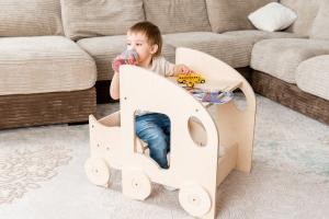 Table and Chair - Montessori Lerntisch mit Sitz