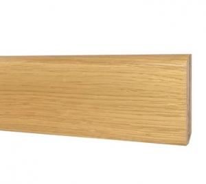 Battiscopa in Legno Ajous Liscio Rovere  - DIMENSIONI: 6,5X0,7cm - Altezza: 2,40mt
