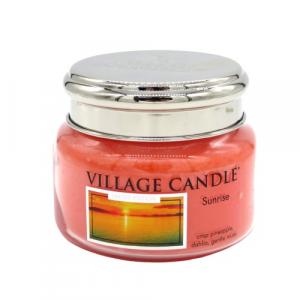 Village Candle Sunrise 50 ore candela alba luminosa