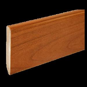 Battiscopa in Legno Ajous Liscio Ciliegio - DIMENSIONI: 7X1cm - Altezza: 2,40mt - Scegli tu le misure!
