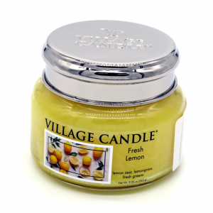 Candela Village Candle Fresh Lemon 50 ore