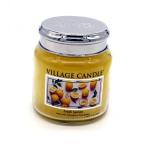 Candela Village Candle Fresh Lemon 105h