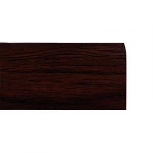Battiscopa in Legno Ayous Liscio Noce Scuro - DIMENSIONI: 7X1cm - Altezza: 2,40mt