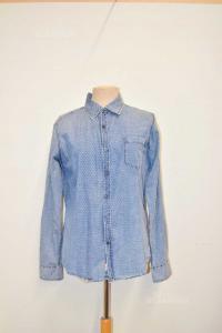 Shirt Man Alcott In Jeans Size M