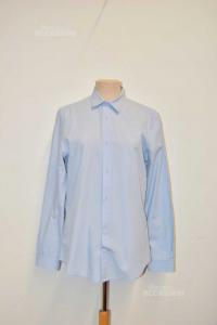 Shirt Man Light Blue H&M Size M