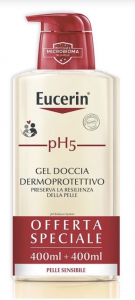 Eucerin ph5 gel doccia 400 + 400 ml