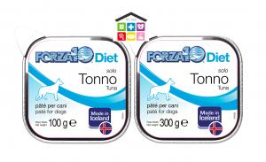 Forza 10 Diet Cane Umido  Solo Diet Tonno  0,100g 300 g