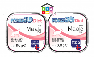 Forza 10 Diet Cane Umido  Solo Diet Maiale 0,100g 0,300g