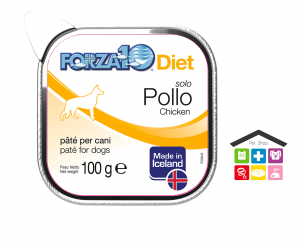 Forza 10 Diet Cane Umido  Solo Diet Pollo 0,100g