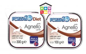 Forza 10 Diet Cane Umido  Solo Diet Agnello 0,100g 0,300g