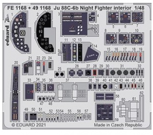 Ju 88C-6b Night Fighter Interior