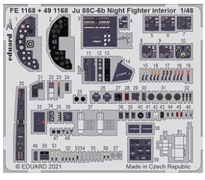 Ju 88C-6b Night Fighter Interior