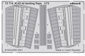 Ki-61-Id Landing Flaps