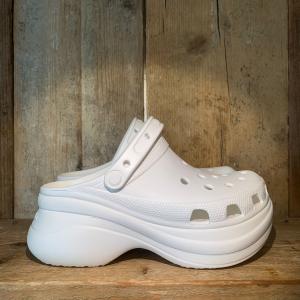 Ciabatta Crocs SPlatform Classic Bae Clog White