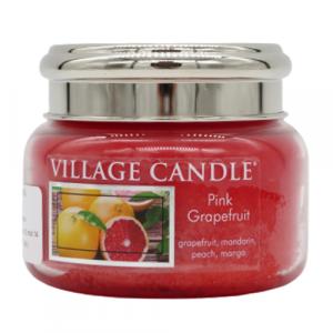 Village candle Pink Grapefruit 50 ore candela pompelmo