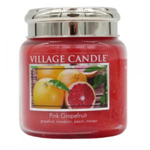 Village candle Pink Grapefruit 105 ore candela