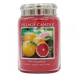 Village candle Pink Grapefruit 170 ore candela