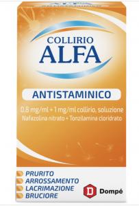 Alfa Collirio Antistaminico 10Ml