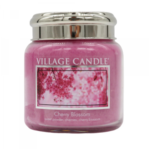 Village candle Cherry Blossom 105 ore candela