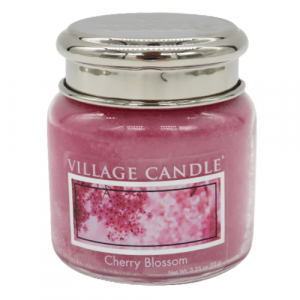 Village candle Cherry Blossom 25 ore candela