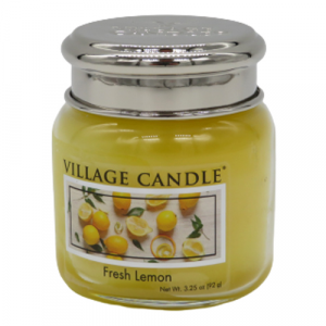 Village candle Fresh lemon 25 ore candela