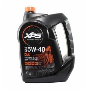 5W-40 4 LITRI Olio Sintetico ad Alte Prestazioni per Motori 4 Tempi