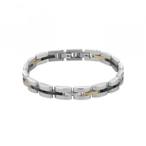 Bliss - Bracciale uomo acciaio e diamante, Admiral, 20071724