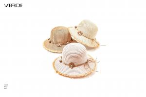 Cappello donna in paglia. Collezione primavera - estate