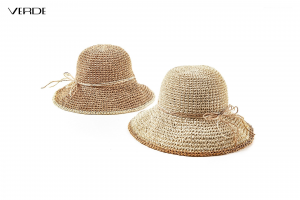 Cappello in paglia pieghevole. Cappelli estivi donna