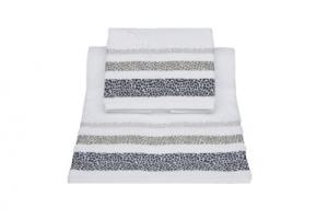 Asciugamani con greca animalier