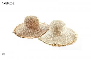 Cappello da sole con frange. Cappelli donna in paglia on line
