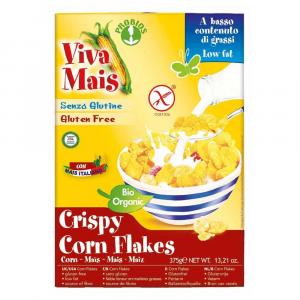 CRISPY CORN FLAKES - senza glutine  375g  VIVA MAIS