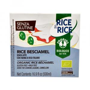 Besciamella Vegetale di Riso 500 ml Senza Glutine