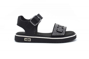 Stone sandalo con strass