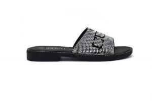 Dream sandal with rhinestones